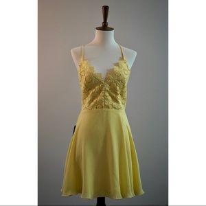 Bebe Dalia Halter Dress